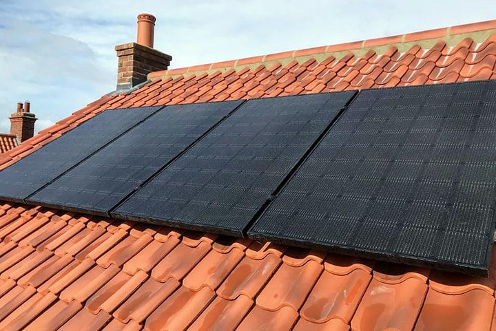 Solar PV Standard Roof Tiles