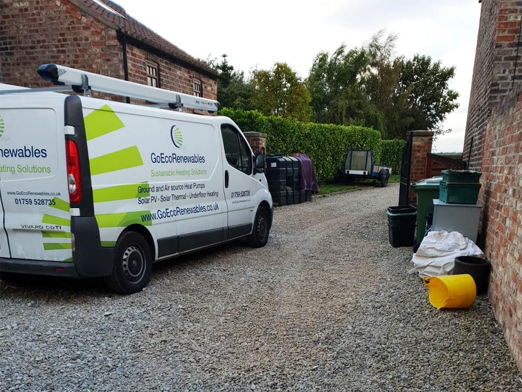 Go Eco Renewables Van