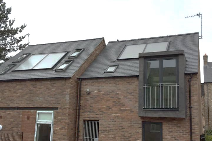 Solar Thermal in roof