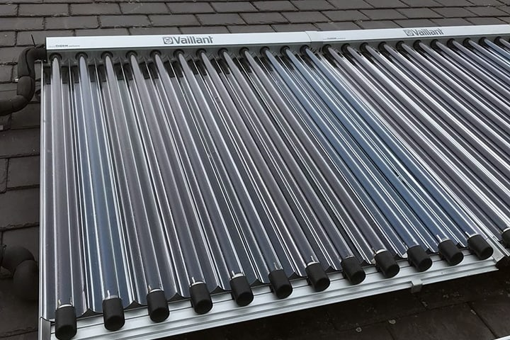 Solar Thermal on roof