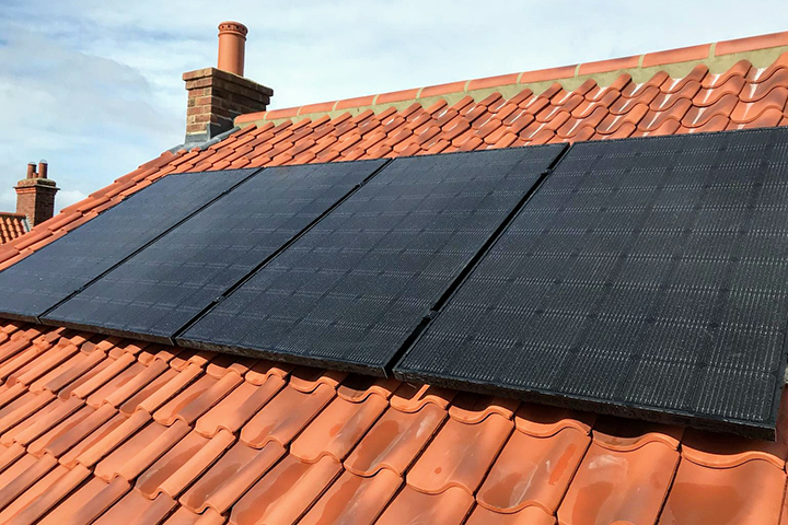 Solar Roof Example